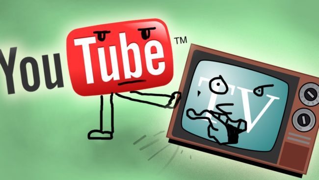 Youtube and Television