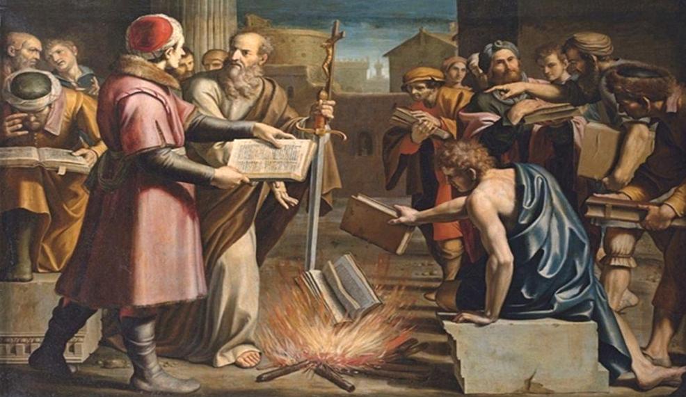 حكايات عن حرق المخطوطات: تاريخ موجز للإبادة